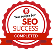 The recipe for SEO Success icon